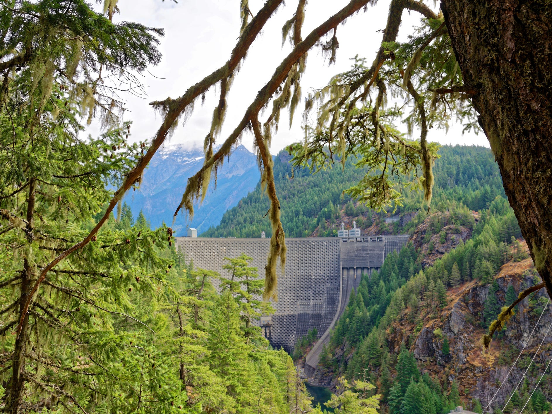 Ross Dam in Washington.