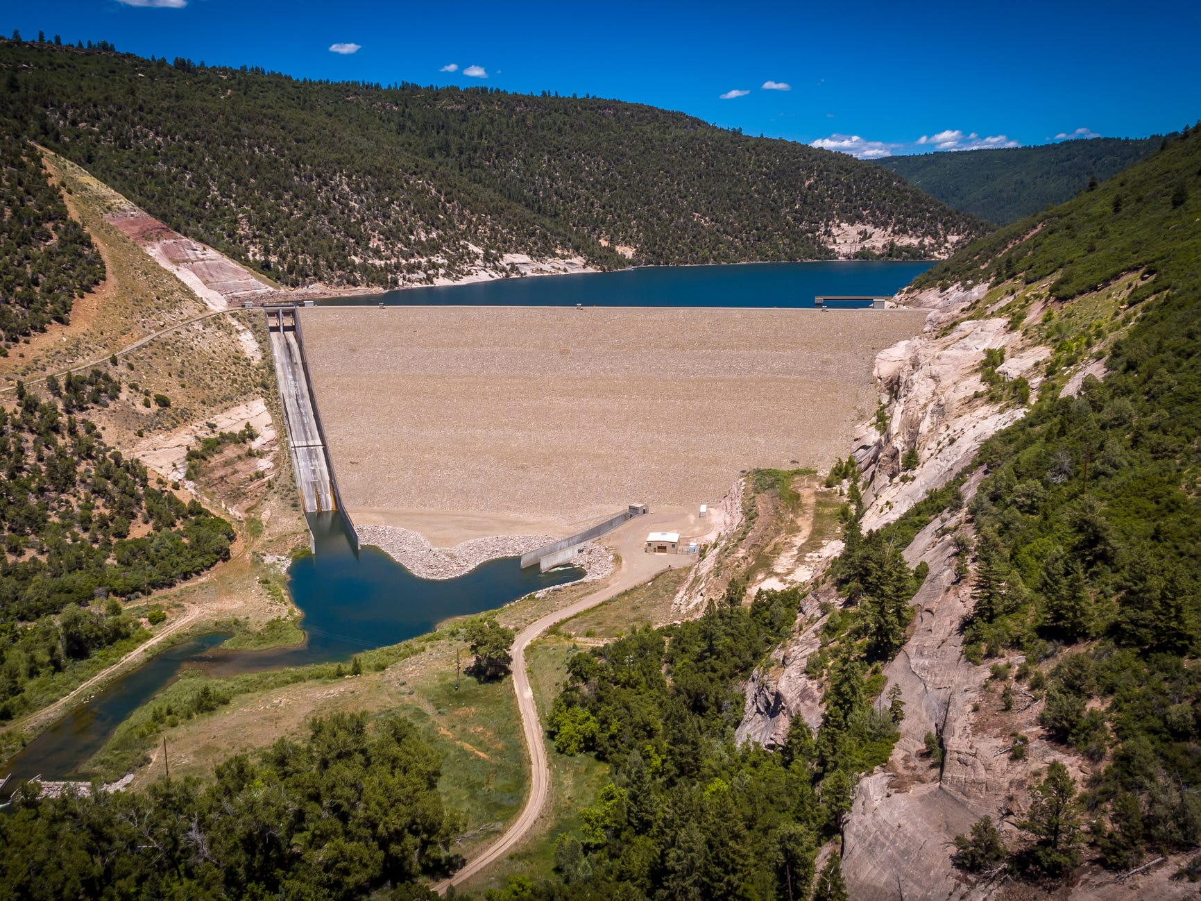 McPhee Dam in Colorado.