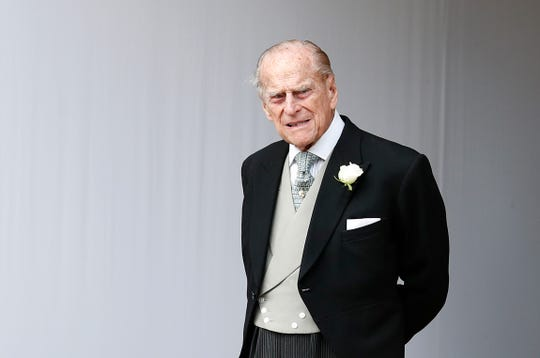 Prince Philip, seen here at the Oct. 12, 2018,   wedding of granddaughter Princess Eugenie, has reportedly written a letter of apology to the other person involved in his Jan. 17 car accident.