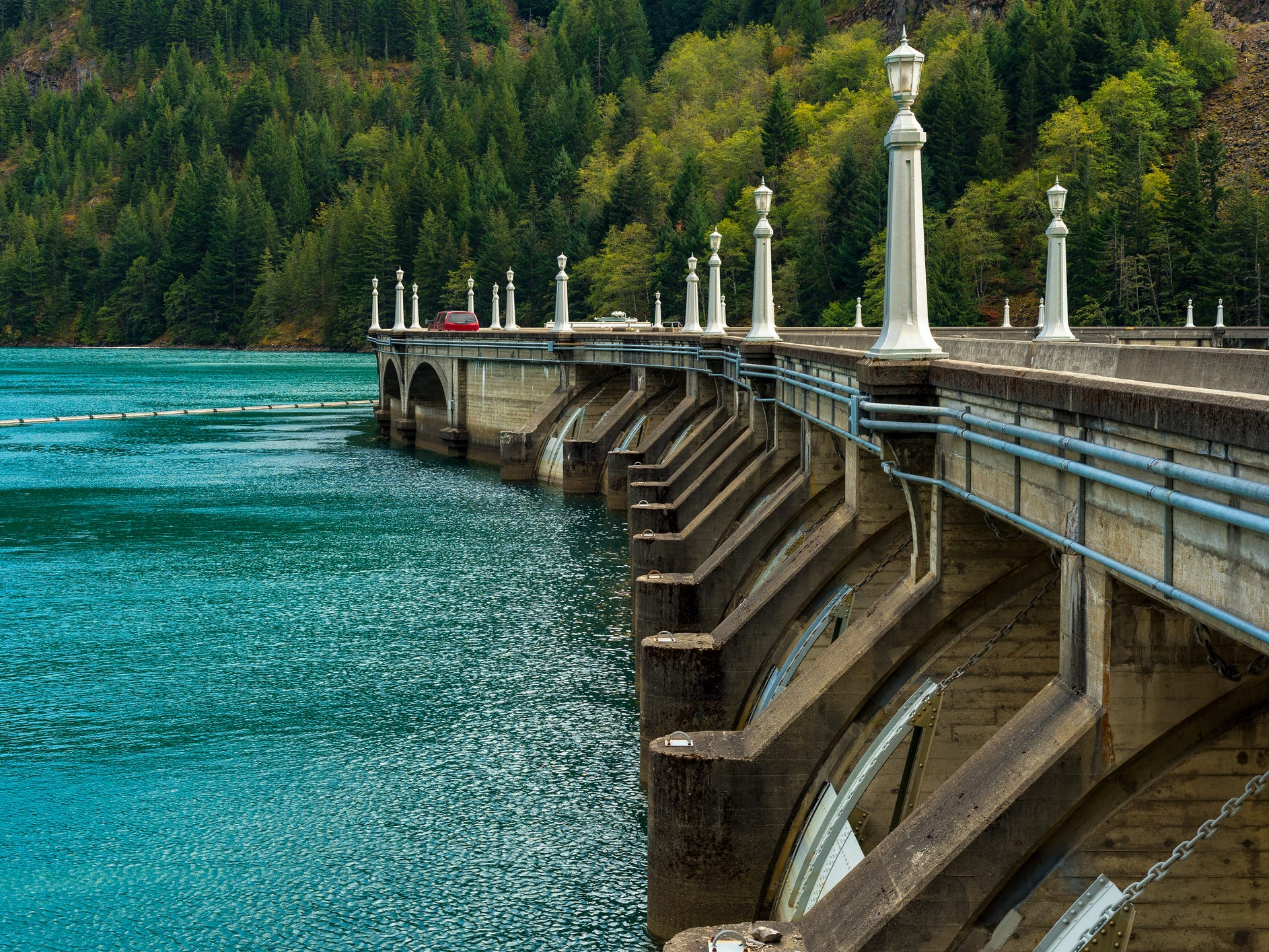 Diablo Dam in Washington.