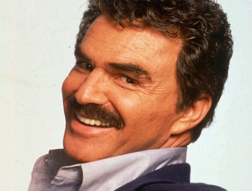 FILE-  This undated file photo shows actor Burt Reynolds. Moustaches might be having a trendy moment with fashion insiders, models and Facebook fan pages.  (AP Photo/File)
