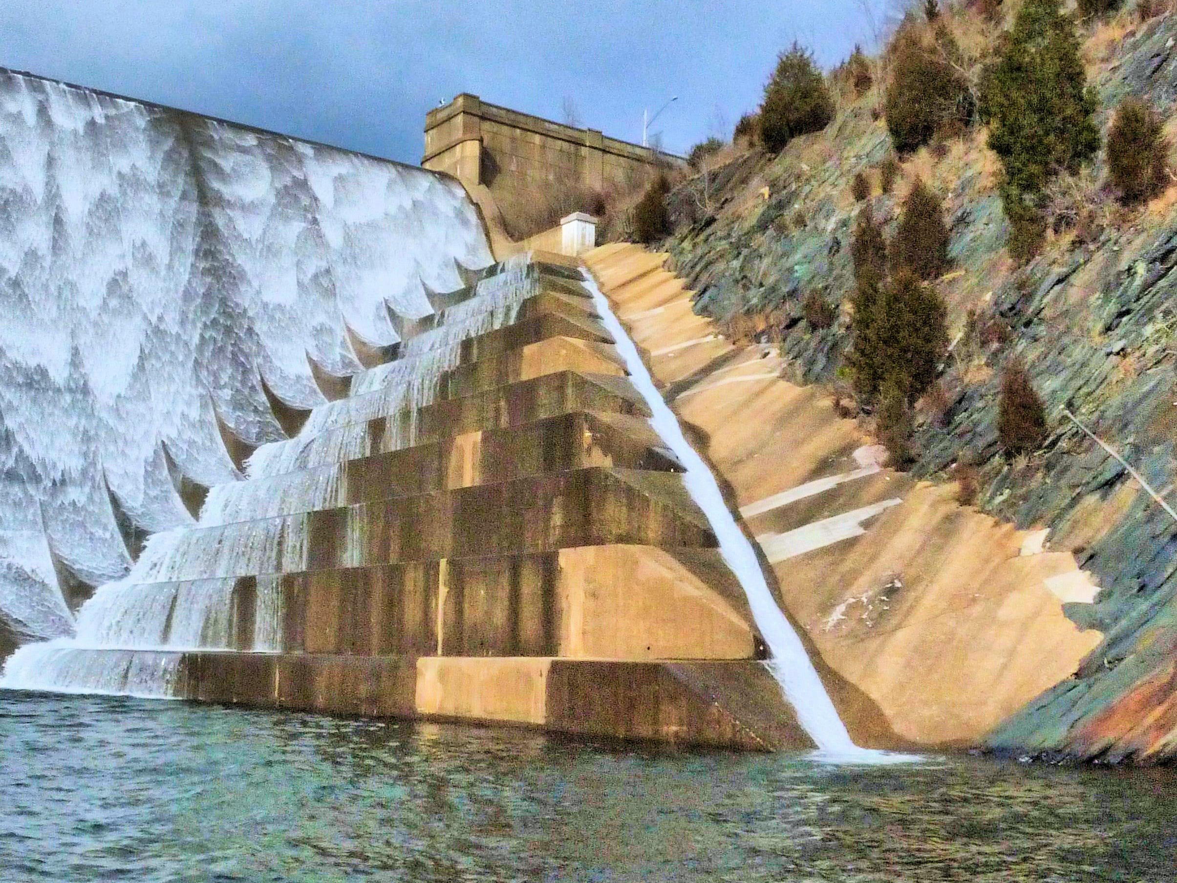 Liberty Reservoir Dam in Maryland.