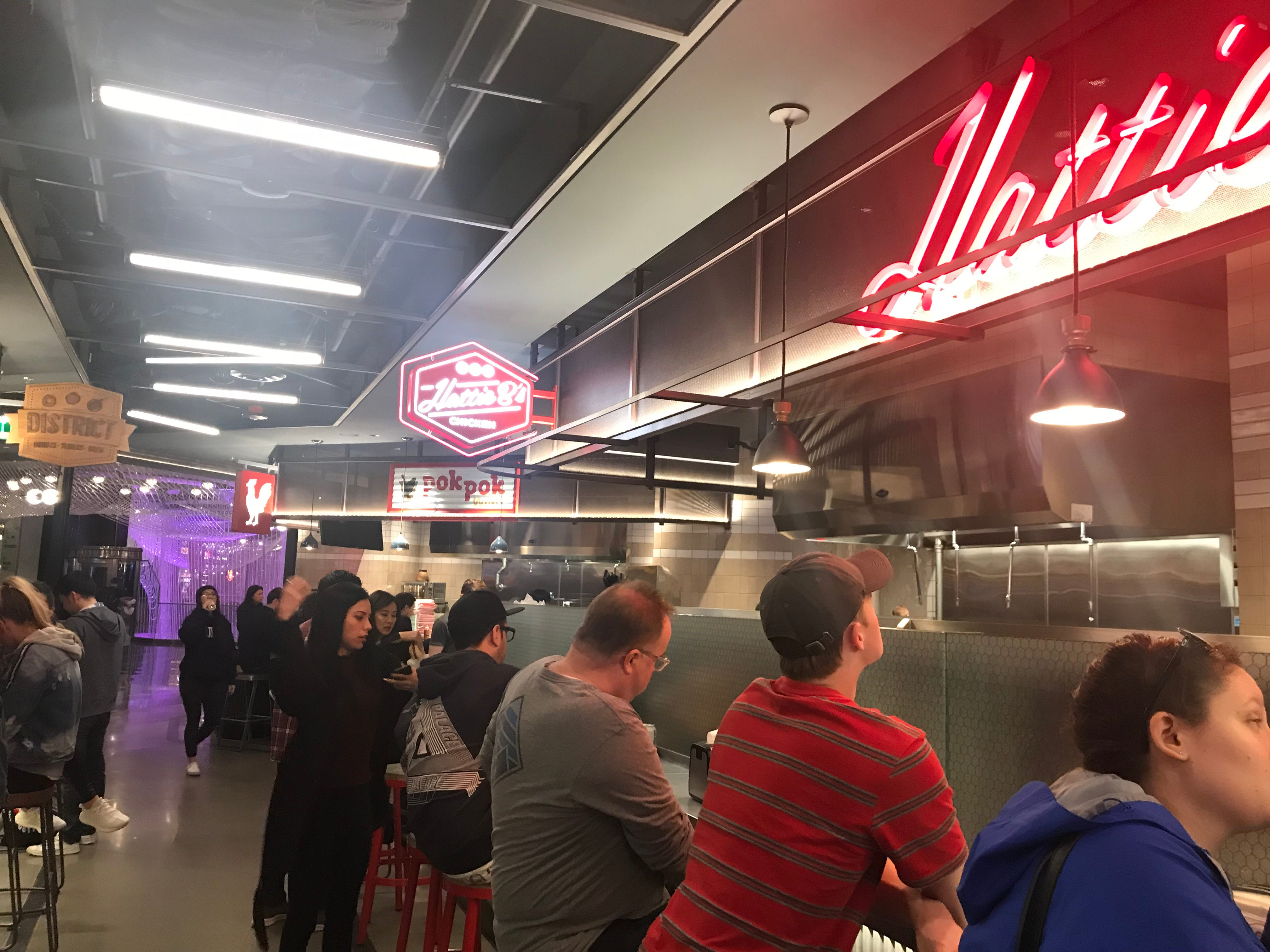 Block 16 is a new food court for foodies at Cosmopolitan Las Vegas, featuring popular restaurants from around the country.
