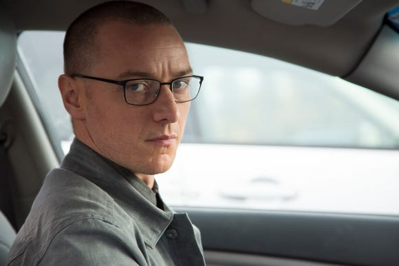 "James McAvoy stars as a dangerous man with multiple personalities in M. Night Shyamalan's ""Split."""