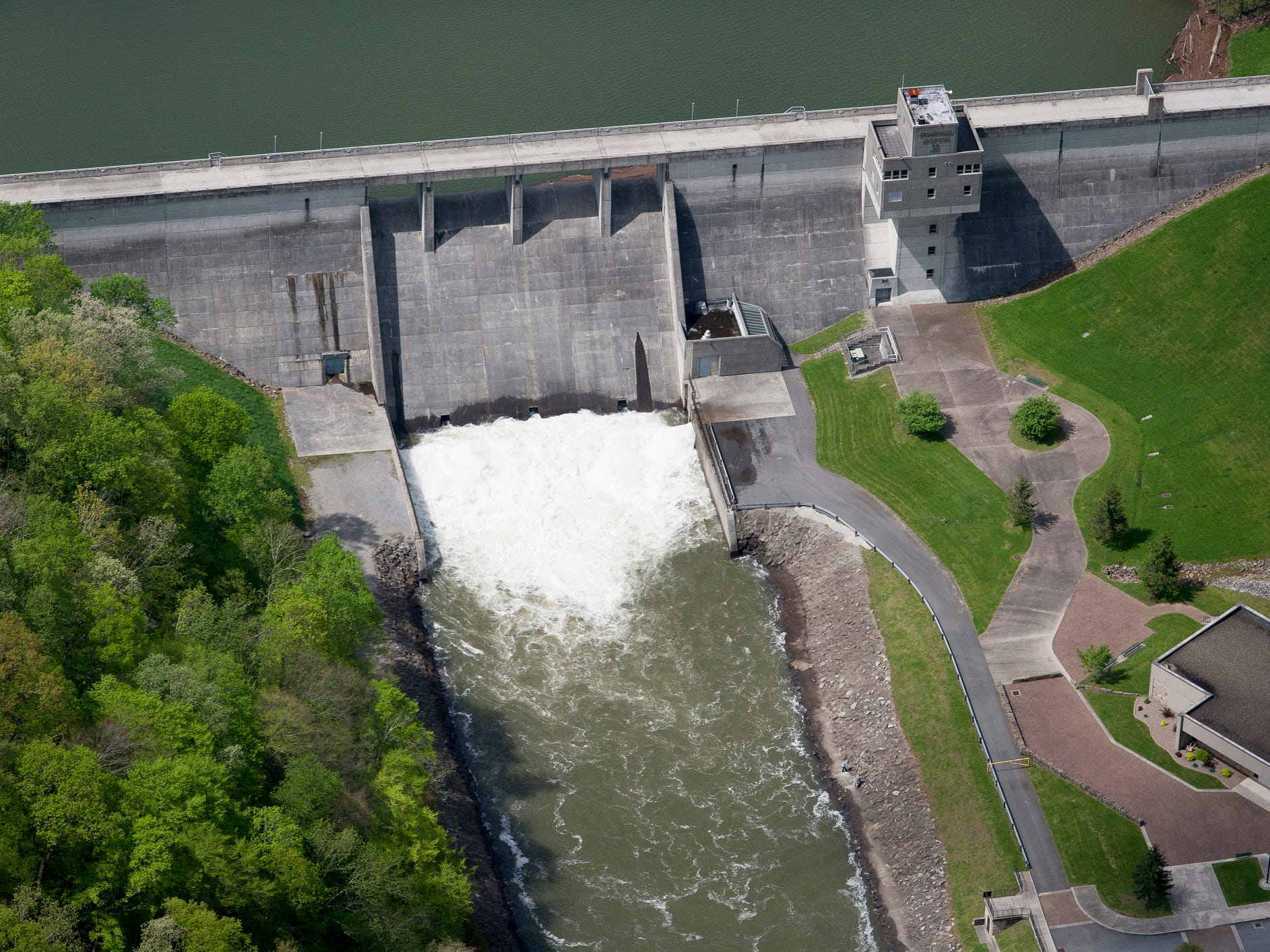 Stonewall Jackson Dam in West Virginia.
