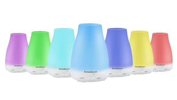 These aromatherapy diffusers look great in any room.