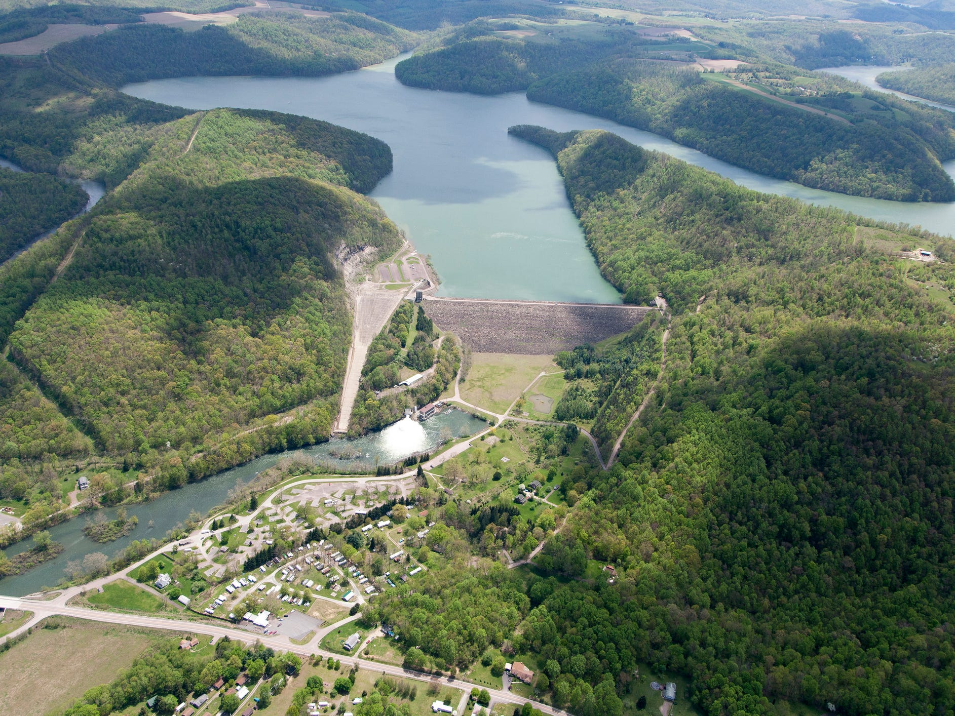 Youghiogheny Dam in Pennsylvania.