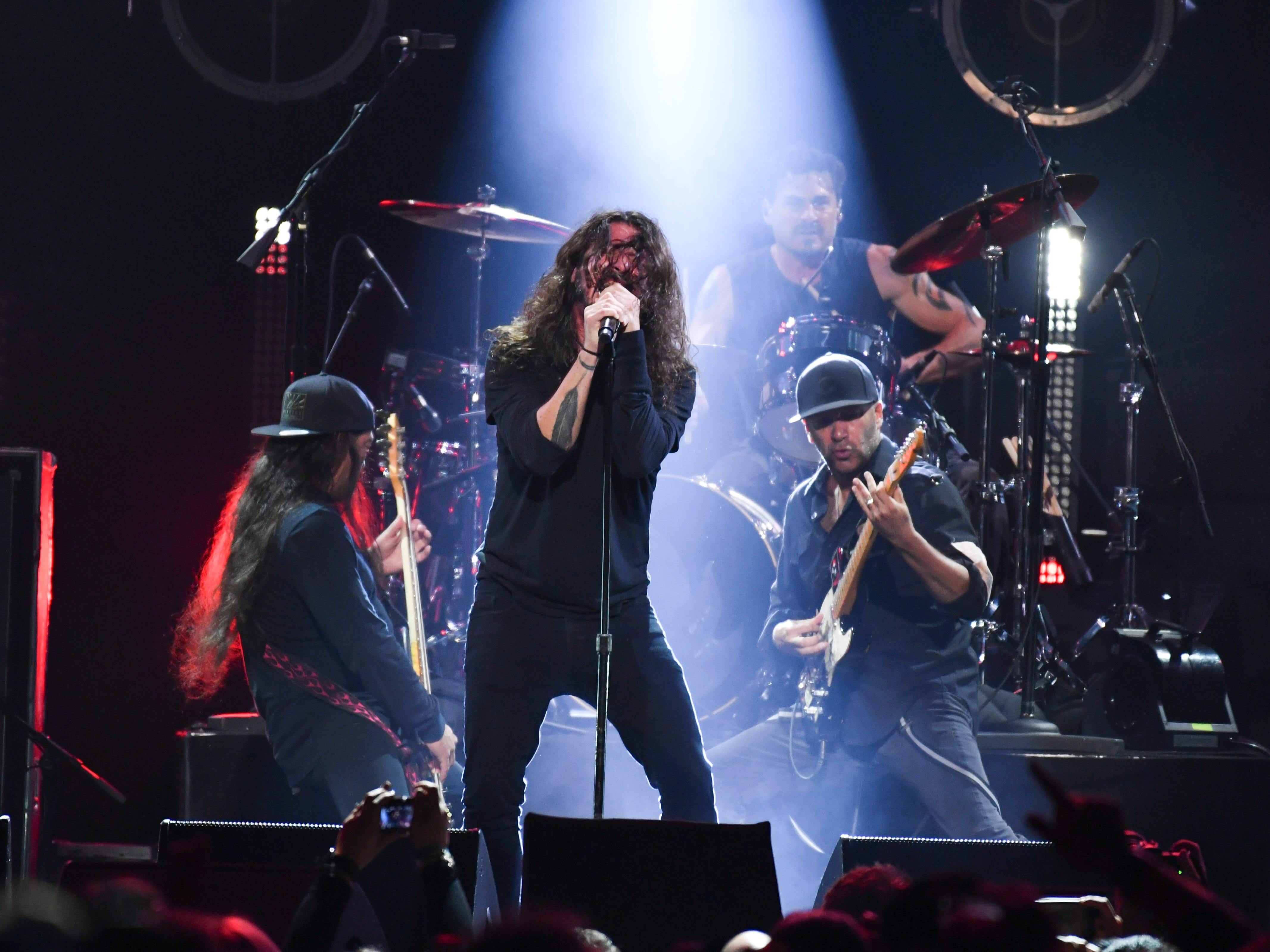 Big moments from Chris Cornell tribute show: Miley Cyrus impresses, Soundgarden reunites