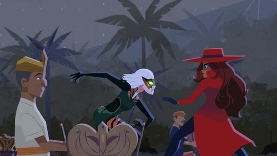 "Gina Rodriguez voices the new ""Carmen Sandiego."""