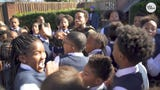"""The Atlanta-based rapper says he chose the two students because they have """"been really great with their character"""" and inspiring people around them."""