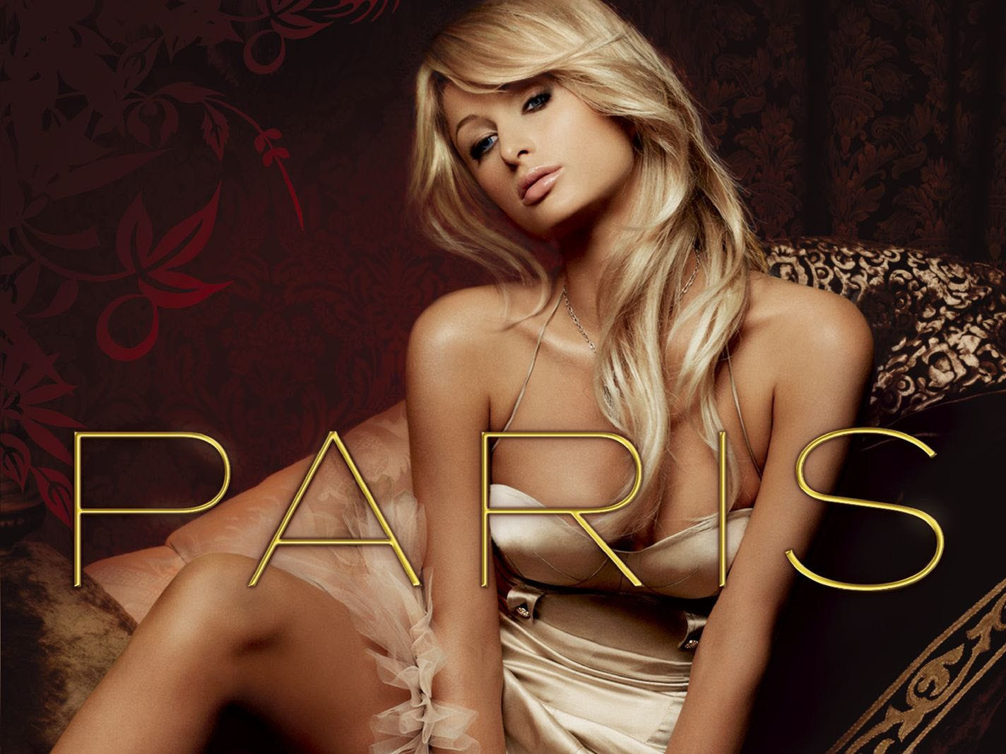 Music album cover art for Paris, the first cd release by Paris Hilton --- DATE TAKEN: rec. 12/06  No Byline   Warner