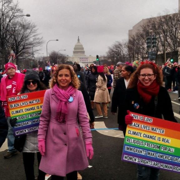 Debbie Wasserman Schultz: Why I refuse to walk with the Washington Women's March