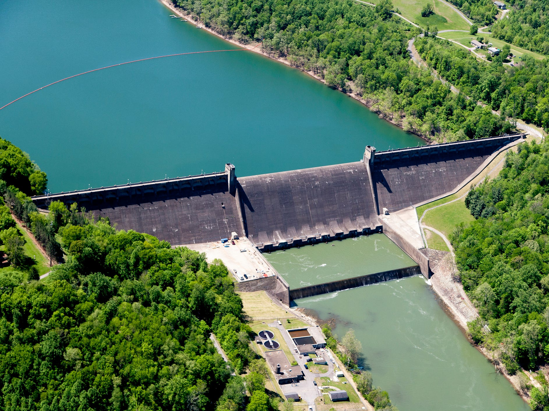Tygart Dam in West Virginia.