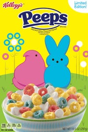 Kellogg's is introducing a limited-edition Peeps cereal.