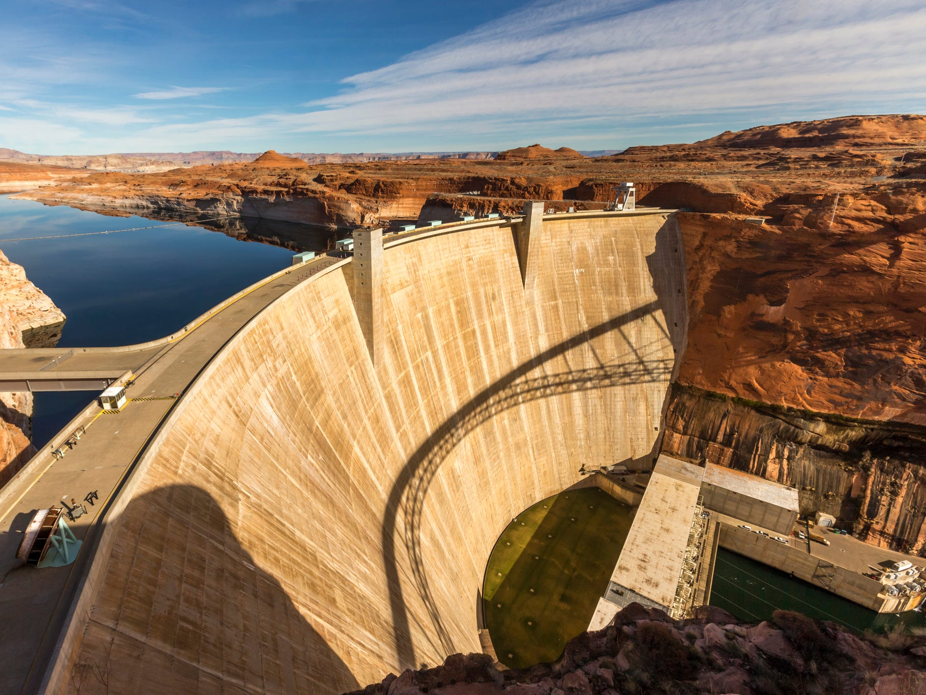 Glen Canyon Dam in Arizona.