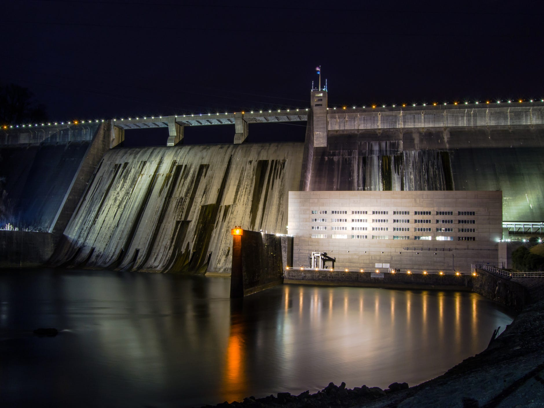 Norris Dam in Tennessee.