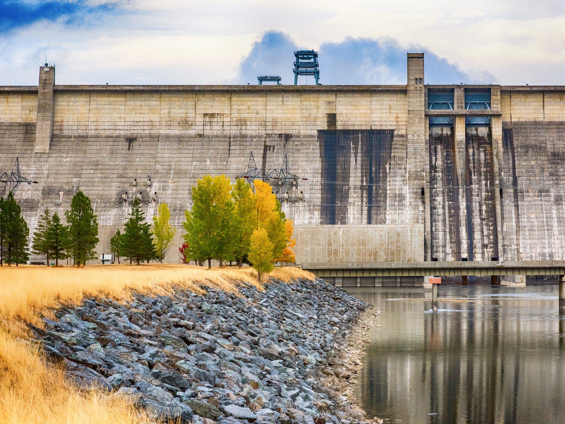 Libby Dam in Montana.