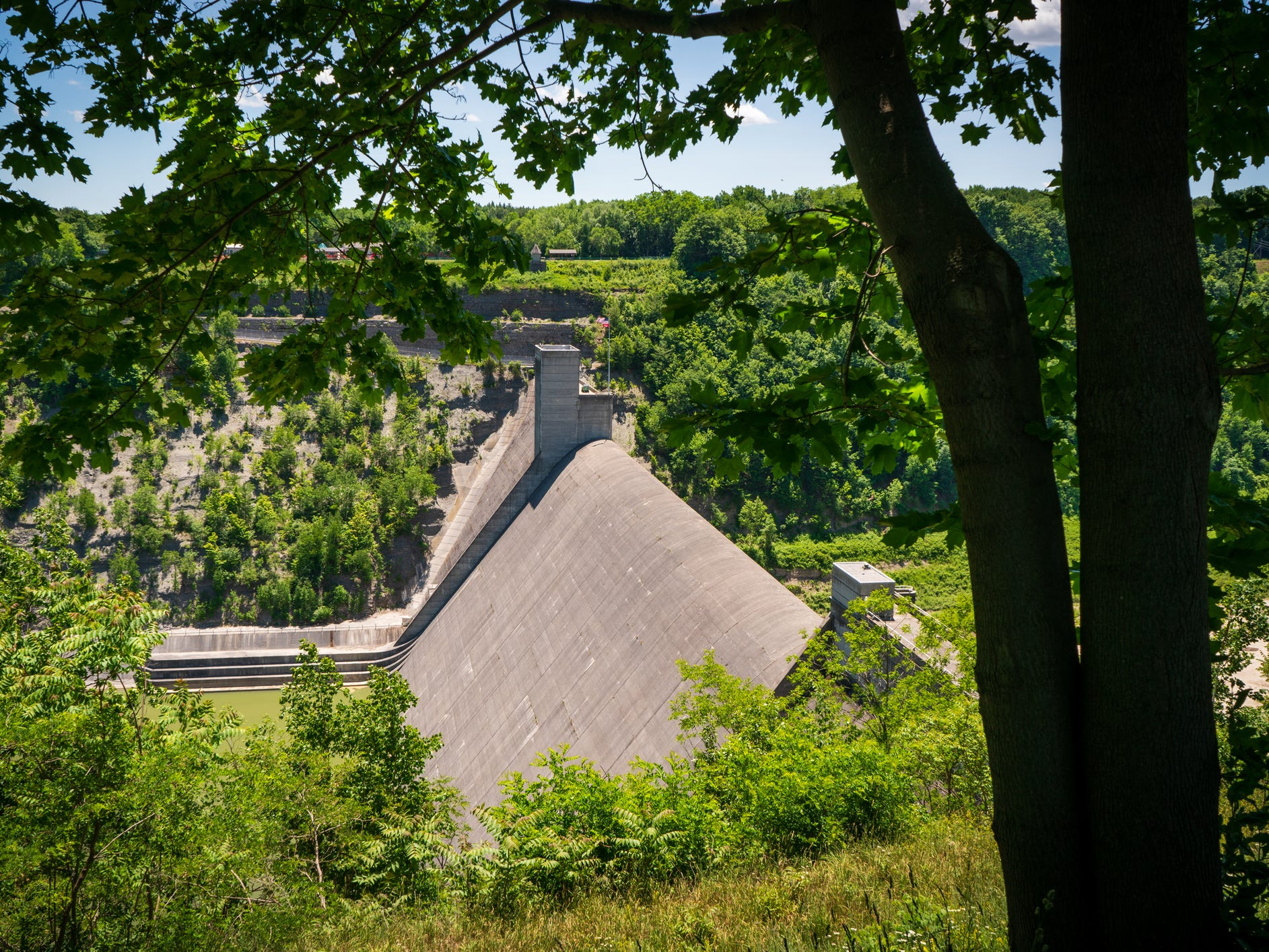 Mount Morris Dam in New York.