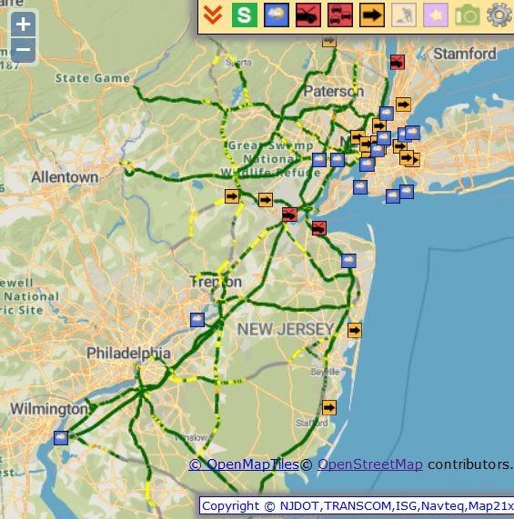 NJ Weather: Speed restrictions, NJ Transit delays