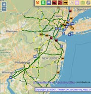 There were speed restrictions on major commuter roads Friday morning.