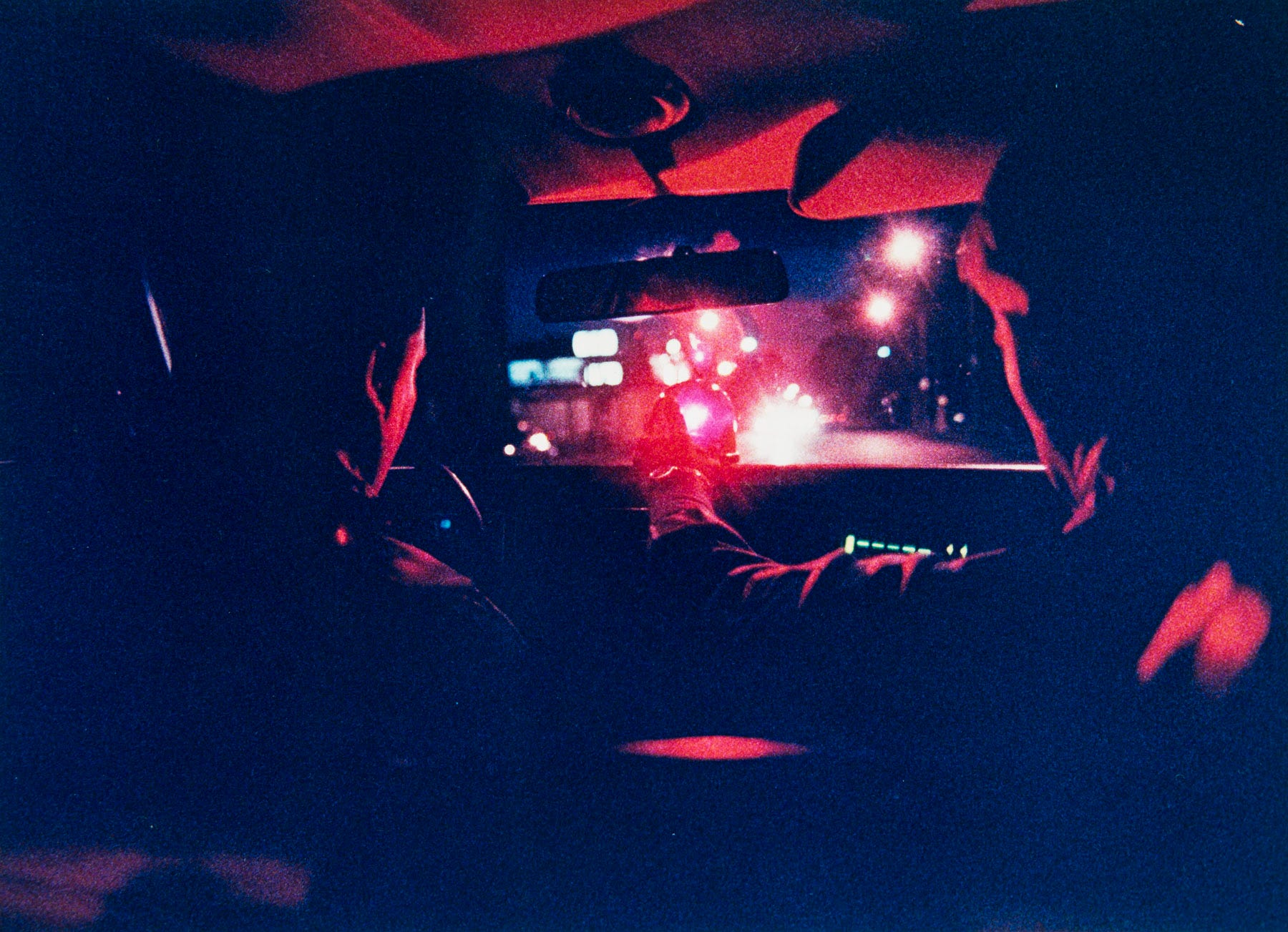 Newark police officers set up the emergency lights in their vehicle in this 1990 file photo.