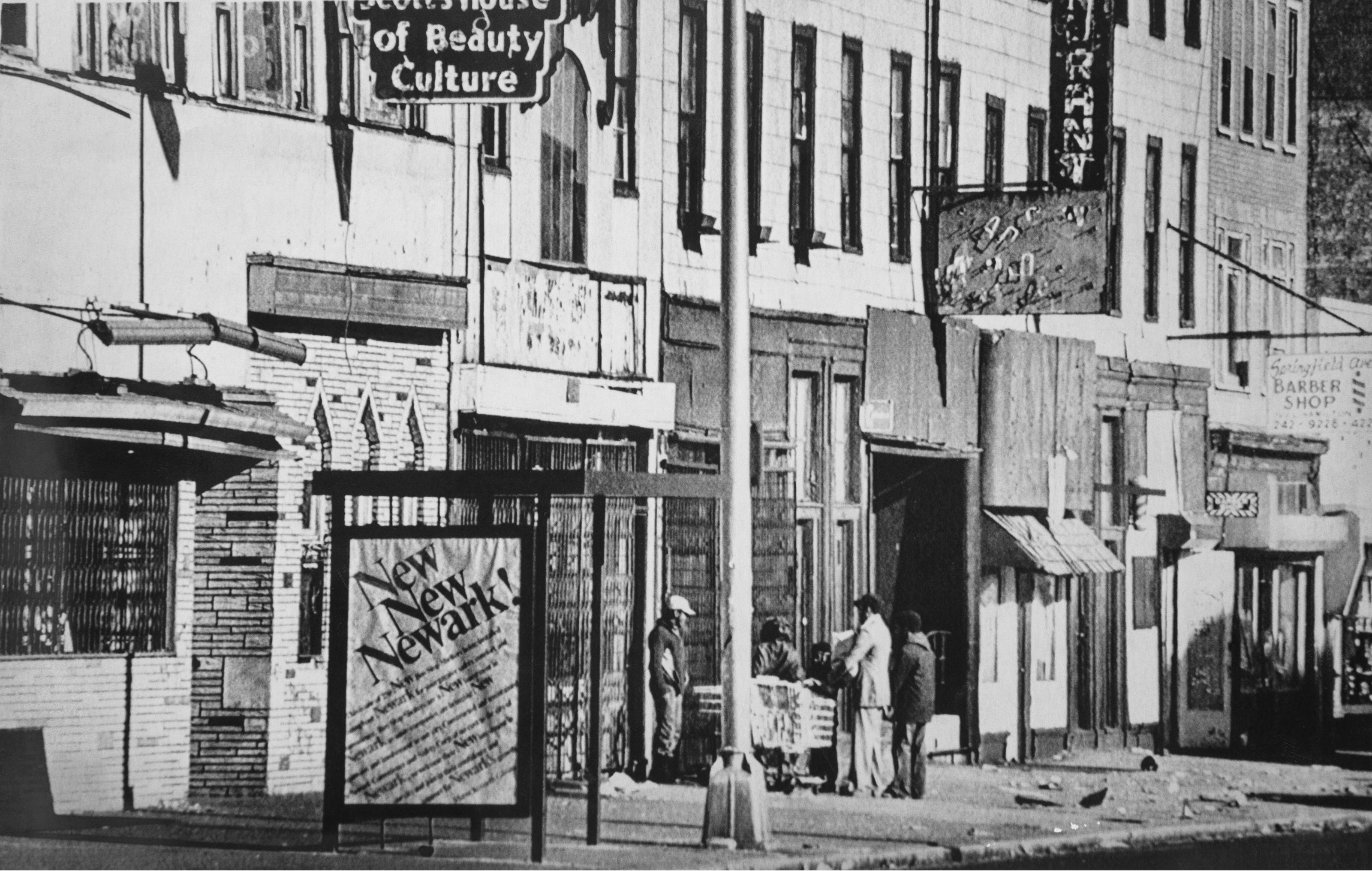 Springwood Avenue in Newark, New Jersey in 1987. Scene of the 1967 riots, the neighborhood was in dire condition when crack hit in the late 1980s.