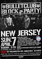 The Bullet Club Block Party is coming to Redd's in Carlstadt on April 7.