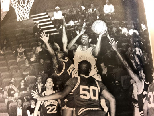 Hardin-Simmons' Vincent Langston played four seasons with the Cowboys from 1985 through 1988.