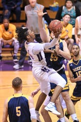 Hardin-Simmons freshman Steven Quinn (14) has played his way into the starting lineup this season. Quinn has started the last six games for the Cowboys as they wrap up the first round of ASC West play on Saturday against McMurry.