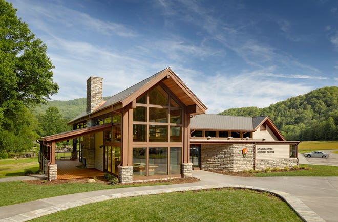 The Oconaluftee Visitor Center near Cherokee has been reopened for MLK weekend.