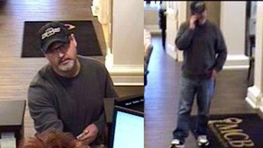 The suspect dubbed the 'Traveling Bandit' hit a bank in Johnson City, Tennessee on Jan. 4. A Pikeville man was later arrested in connection with the case.