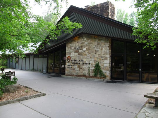 The Sugarlands Visitor Center near Gatlinburg has been reopened for MLK weekend.