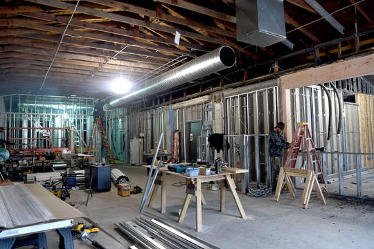 Construction continues on Cultura, a new restaurant from chef and Table founder Jacob Sessoms attached to Wicked Weed's Funkatorium on the South Slope. A coffee bar, led by Marshall Hance of Mountain Air Roasting, is also in the works as well as a new event space.
