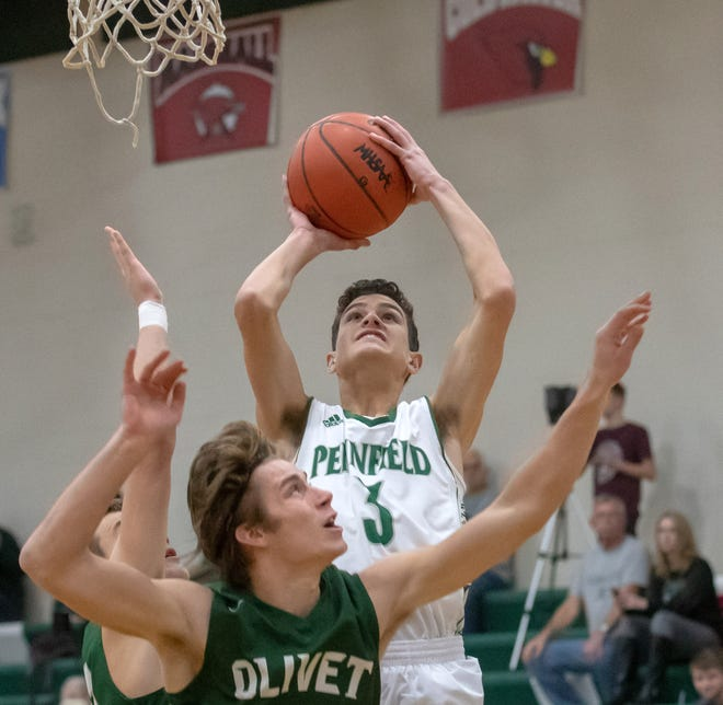 Pennfield's Gavin Liggett (3) is the Enquirer Athlete of the Week