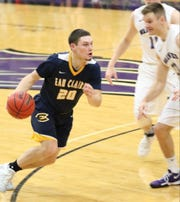 Cole Rabedeaux, a former North Kitsap star, is averaging a team-high 17.1 points per game for NCAA Division III Wisconsin Eau Claire.