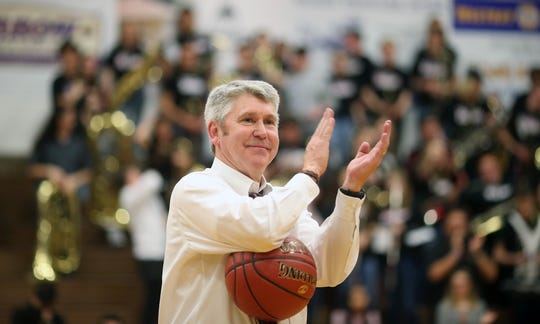 South Kitsap boys basketball coach John Callaghan announced his retirement from coaching this week. Callaghan coached the Wolves for 21 seasons and finishes with 304 career victories.