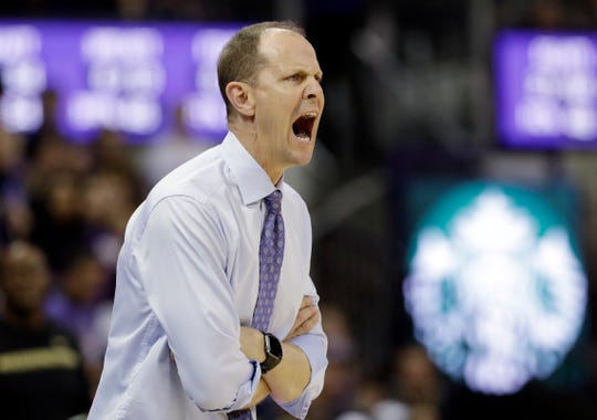 Washington coach Mike Hopkins has drilled his players on the importance of better ball movement, and it's starting to pay off for the Pac-12-leading Huskies.