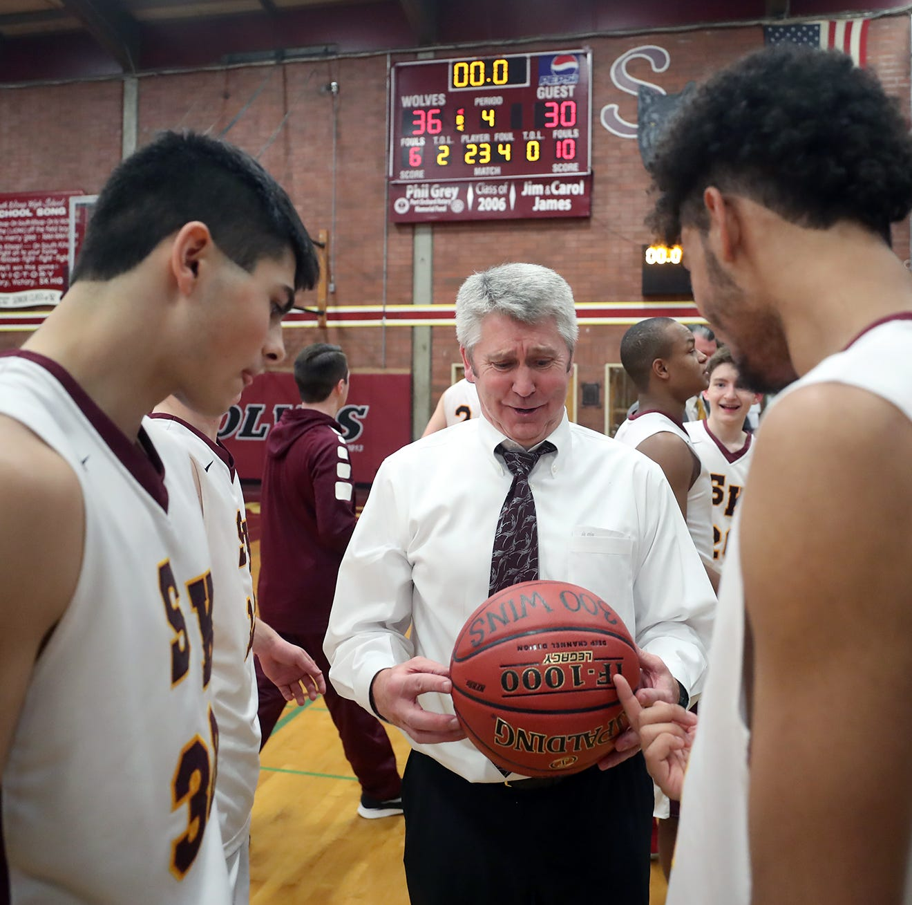 Callaghan earns 300th career hoops win at South Kitsap