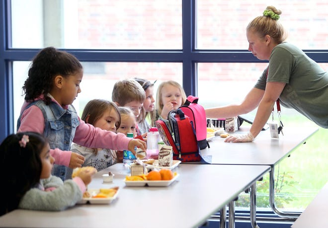 """Dougie & Ray's, a nonprofit dedicated to helping students in need in the Fairfield City School District, is launching the """"Lunch It Forward program, paying off the lunch debt for all of the district's elementary schools."""