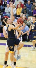 Cole Rabedeaux got invited to play for Wisconsin Eau Claire after coaches saw him playing in an open gym there. Now he's the team's leading scorer.