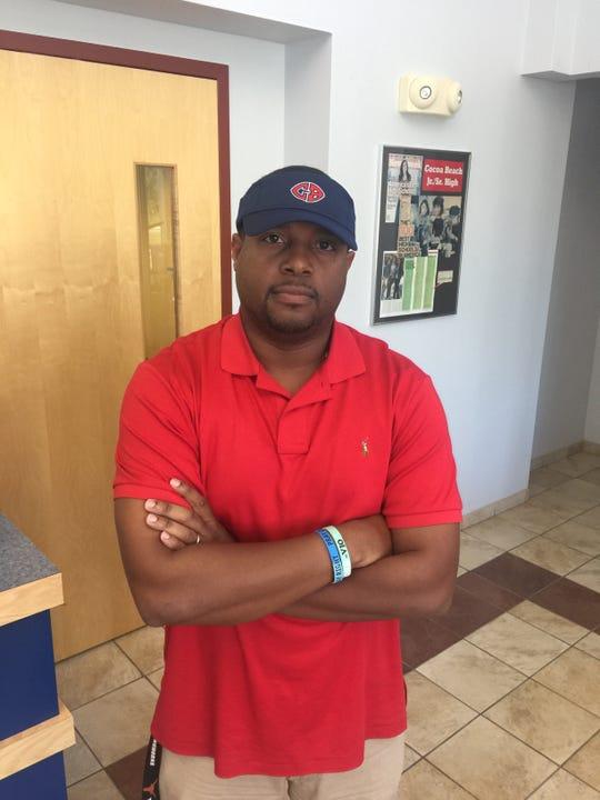 DeMarkulus Menyfield, new Cocoa Beach head football coach.