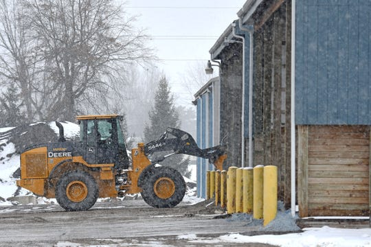 Preparations for this weekend's winter weather started earlier in the week at the Crawford County salt garage.