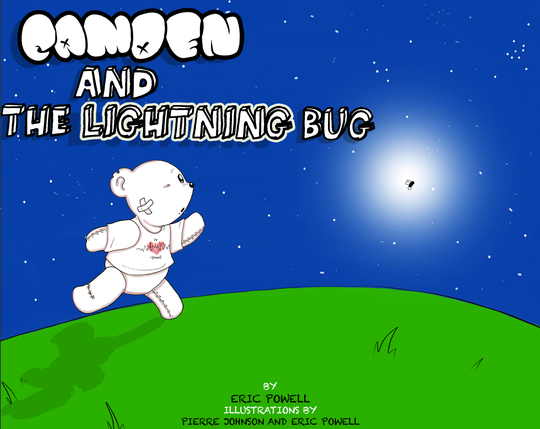 'Camden and the Lightning Bug' is a book by city native Eric Powell. He's started a Kickstarter campaign to get the book published and says proceeds would go toward an educational nonprofit.