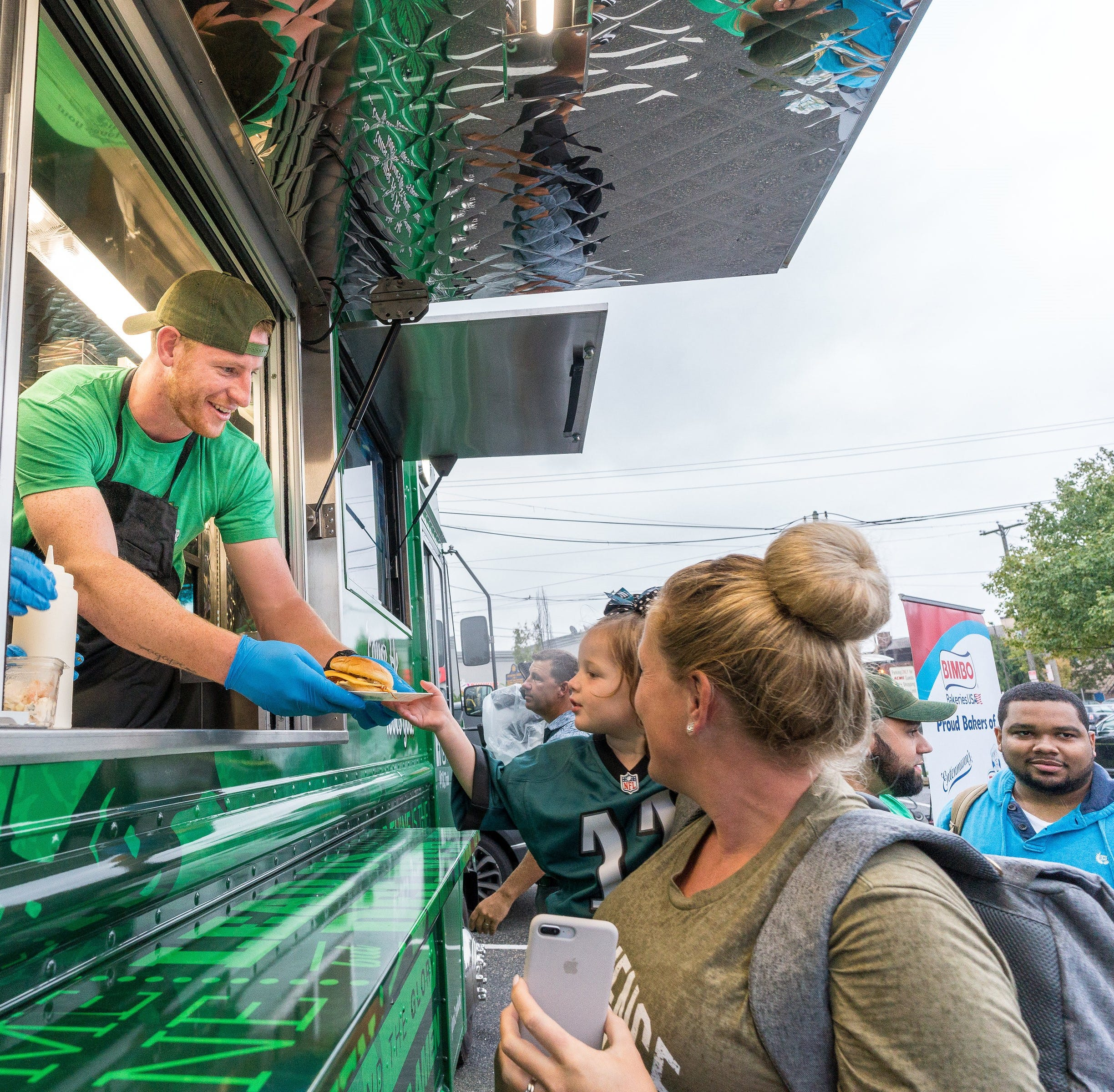 Food-truck service backed by Carson Wentz moves into former Rockhill in Cherry Hill