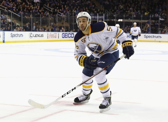 Justin Bailey, a Buffalo Sabres second-round pick in 2013, has spent all season in the American Hockey League with the Rochester Americans.