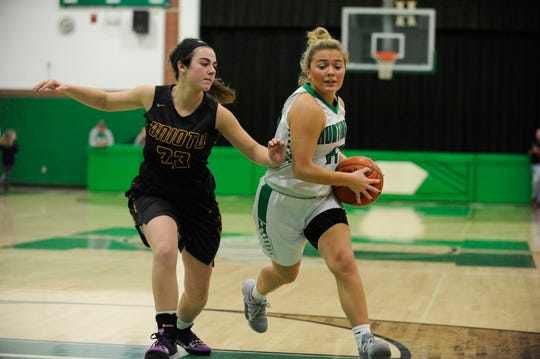 Unioto girls basketball defeated Huntington 55-33 on Thursday at Huntington High School 55-33. The Shermans remained undefeated in the Scioto Valley Conference.