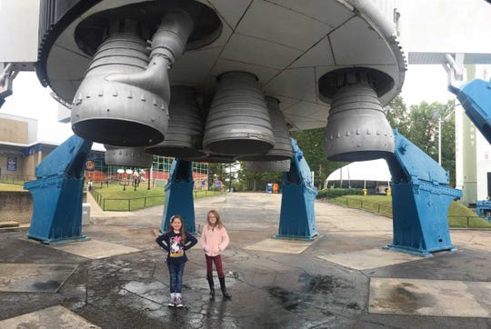 The US Space and Rocket Center in Huntsville, Alabama, is a hands-on experience and boasts a large collection of historic rockets.