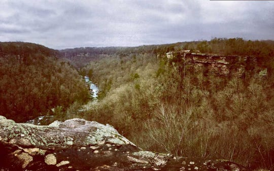 Little River Canyon in Alabama has similar vistas to Red River Gorge in Kentucky.