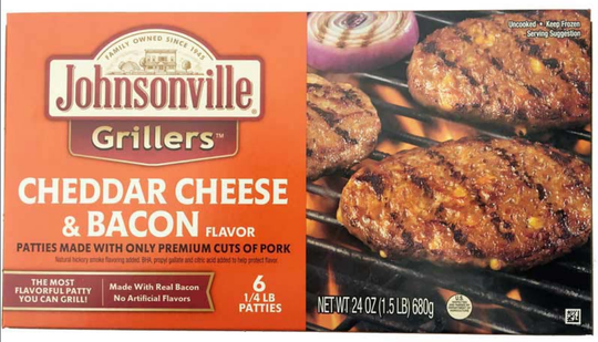 Johnsonville has recalled approximately 48,371 pounds of raw ground pork patty products that may be contaminated.