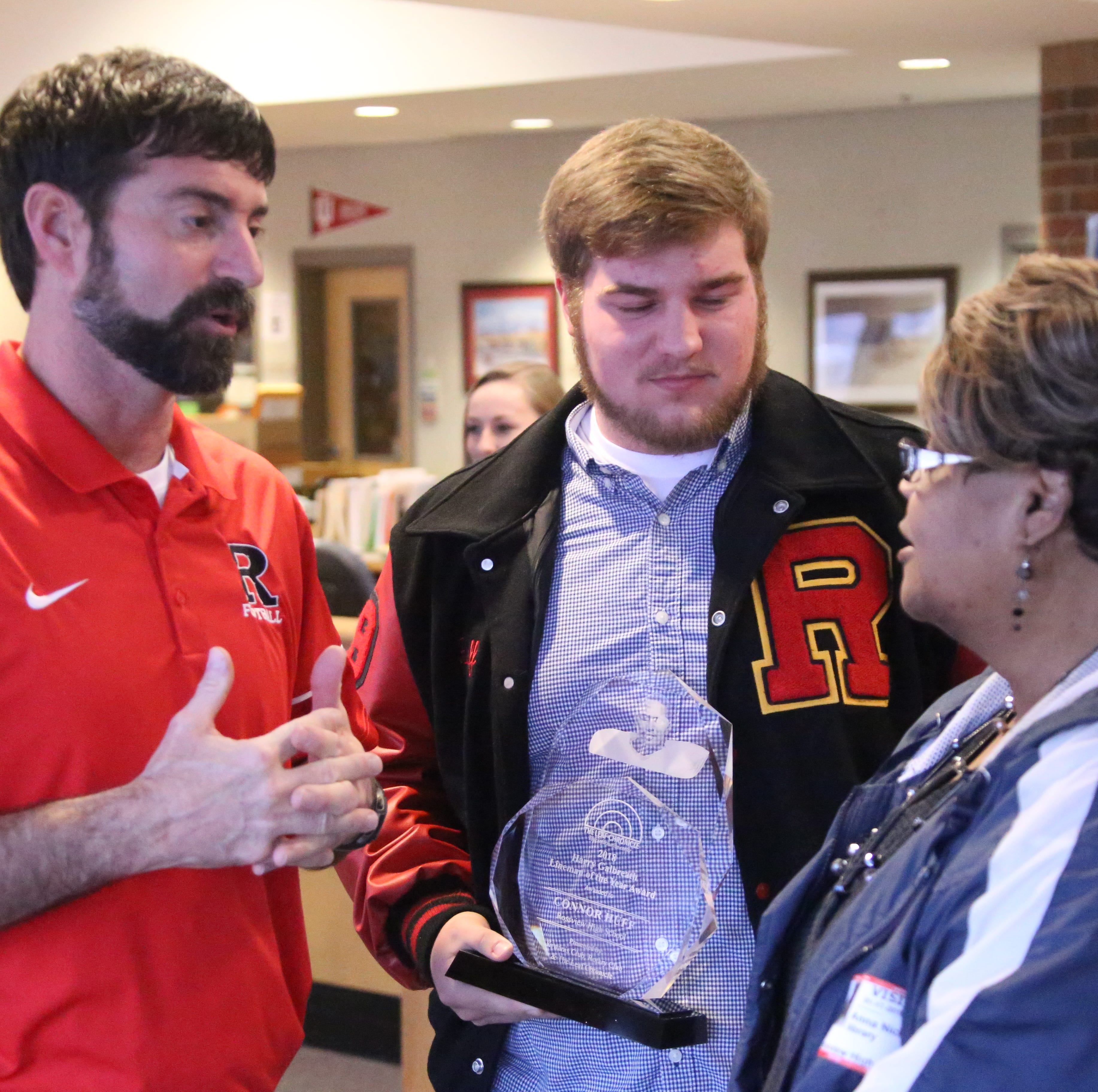 Rossview's Connor Huff named Harry Galbreath Award winner